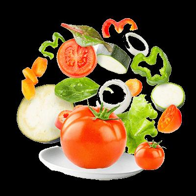 Distribuidor de verdura y fruta